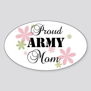 Army Mom [fl] Sticker (Oval)
